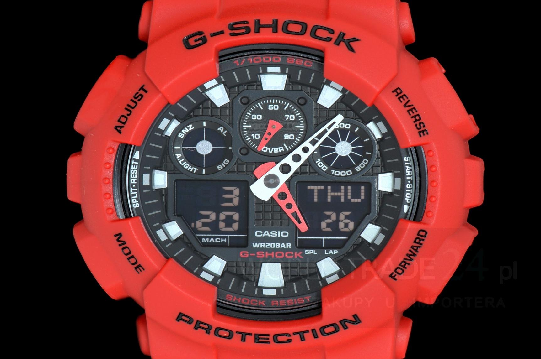 Zegarek Mski G Shock Casio Ga 100b 4a 4adr