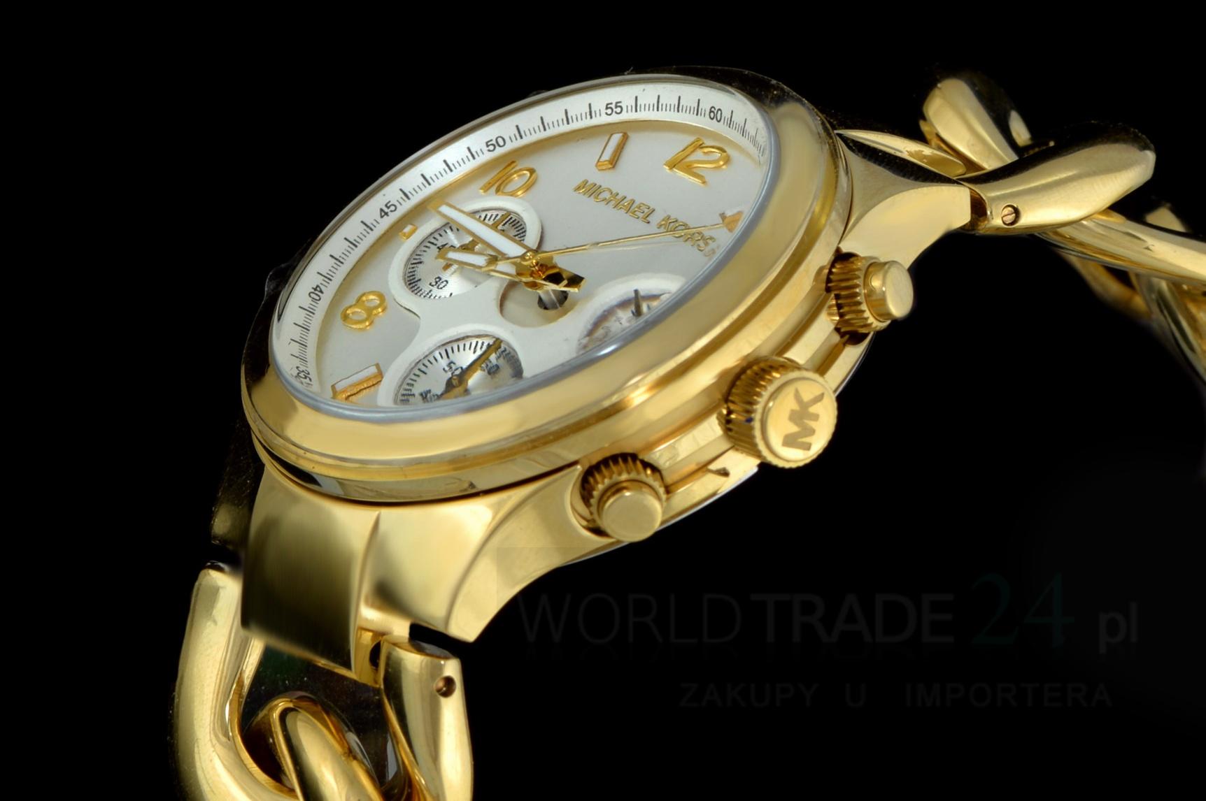 Zegarek Damski Michael Kors Mk3131 Fashion Gold