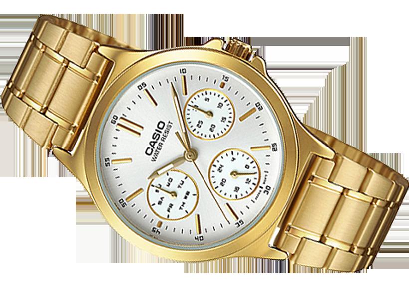 21ea2bf0a8ae4 Zegarek damski Casio LTP-V300G-7A bransoleta - Zegarki, Zegarki damskie,  zegarki męskie, zegarki Casio, zegarki Timex