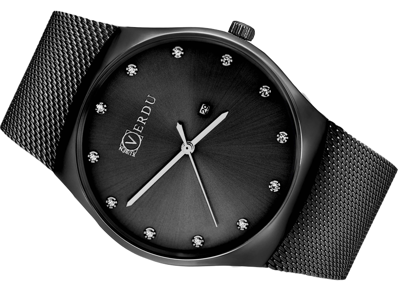 Wystarczy Modny zegarek męski Ruben Verdu RV0403 bransoleta - Zegarki  PN-67