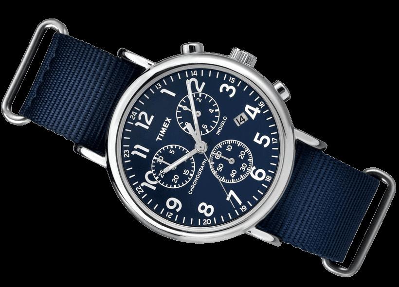 68dce1344c08 Zegarek męski Timex TW2P71300 Weekender Chronograf - Zegarki ...