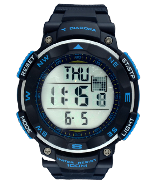 Man watch DIADORA DI-014-02 TREKKY WR 100M