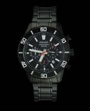 MEN'S WATCH PULSAR BY SEIKO PT3367X1 BLACK CHRONO