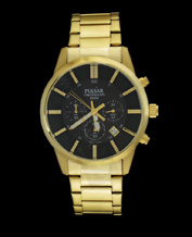 MEN'S WATCH PULSAR BY SEIKO PT3346X1 GOLD CLASSIC