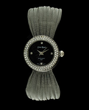LADIES WATCH GINO ROSSI 1157B-1C1 BKSL PIĘKNY