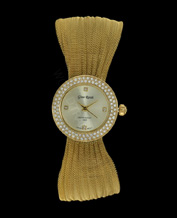 LADIES WATCH GINO ROSSI 1157B-4D1 GDGD PIĘKNY