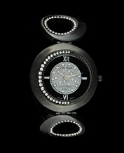 LADIES WATCH GINO ROSSI 3042B-1A1 BKBK ASYMETRIC