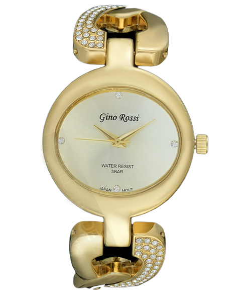 LADIES WATCH GINO ROSSI 1031B-4D1 GDGD