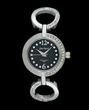 LADIES WATCH GINO ROSSI 1733B-1C1 BKSL PIĘKNY