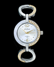 LADIES WATCH GINO ROSSI 1733B-3C2 SLGD PIĘKNY