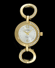LADIES WATCH GINO ROSSI 1733B-3D1 WHGD PIĘKNY