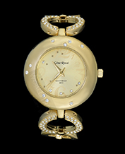 LADIES WATCH GINO ROSSI 1789B-4D1 GDGD ELEGANCKI