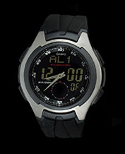 Men watch Casio AQ-160W-1B Sportowy