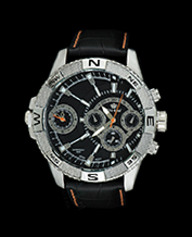 Men watch Gino Rossi Vasto1A1 Orange