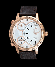 MEN'S WATCH GINO ROSSI 1617-3B1 WHBR TRIPLETIME