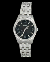 LADIES WATCH TIMEX T2P387 SILVER FASHION