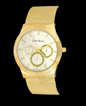 LADIES WATCH GINO ROSSI 3186B-3D1 WHGD