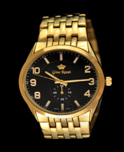 Men watch Gino Rossi 3482B1-1D1 BKGD