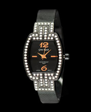 Women watch Gino Rossi 6952B-1A1 BKMiedz