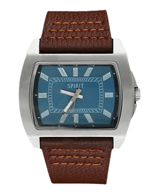 Men's watch Spirit ASPG11 Desing Brown Strap