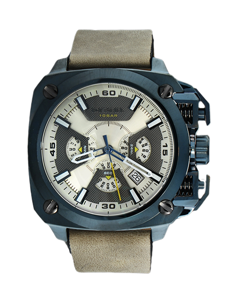 Men's watch Diesel DZ7342 BAMF chronograf 100M