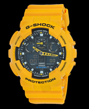 Men's watch Casio GA-100A-9A G-Shock 200M