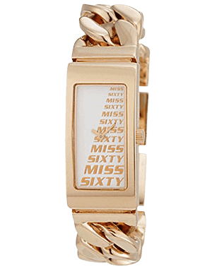 -65% LADIES WATCH MISS SIXTY SL4003 GEMMA GOLD DESIGN