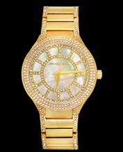 LADIES WATCH MICHAEL KORS MK3312 GOLD CRYSTALS