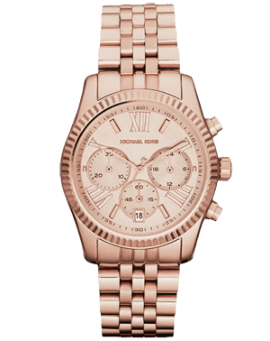LADIES WATCH MICHAEL KORS MK5809 ROSE GOLD 100M