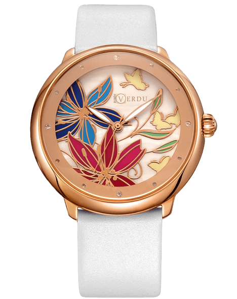 Fashion ladies watch Ruben Verdu RV0701 floral