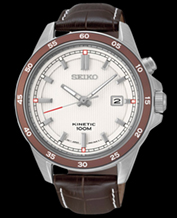 Men's watch Seiko SKA645P1 Kinetic data 100M