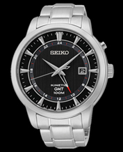Zegarek męski Seiko SUN033P1 Kinetic data 100M