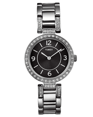 WOMEN'S WATCH TIMEX T2N453 CRYSTAL