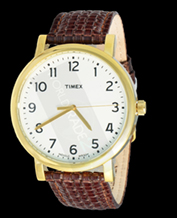 Classic men's watch Timex T2N473 Indiglo Pasek