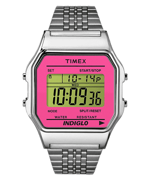 Ladies watch TIMEX TW2P65000 LCD digital sklep