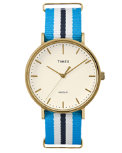 Ladies watch Timex TW2P91000 Weekender Indiglo