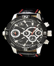 Men watch Gino Rossi Vasto1A2 black