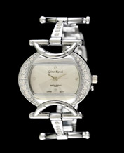 Ladies watch Gino Rossi 08522A silver bracelet