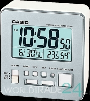 Digital alarm clock Casio DQ-981-8D thermometer silver
