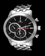 Men watch Gino Rossi 09774B 9774 silver-black