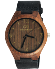 Men's watch Giacomo Design GD08004 Walnut Wood