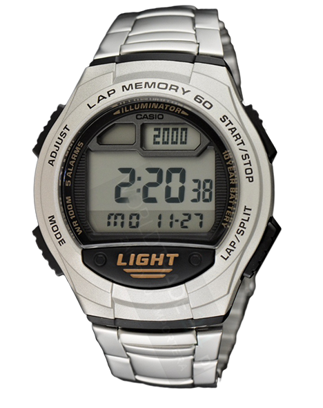 ZEGAREK MĘSKI CASIO W-734D-1A SPORTS LED 100M!
