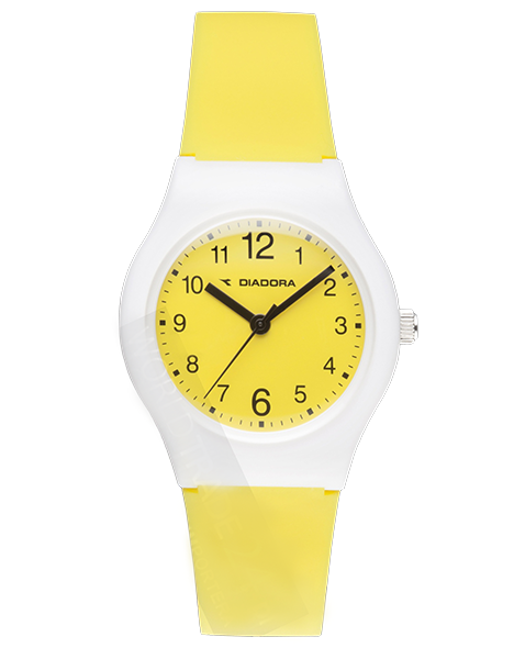 Ladies watch DIADORA DI-007-02 LIGHT YELLOW