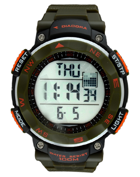 Man watch DIADORA DI-014-03 TREKKY WR 100M
