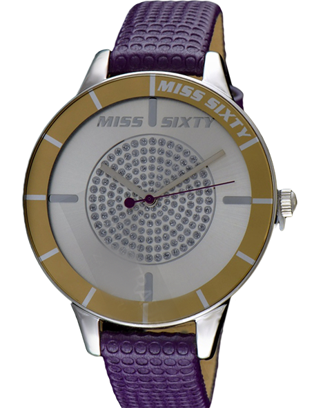 -65% Woman watch MISS SIXTY R0751106505 LIGHT VIOLET