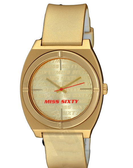 -65% Woman watch MISS SIXTY STU007 VINTAGE GOLD