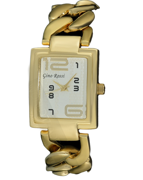 LADIES WATCH GINO ROSSI 6949B-3D1 GDGD FASHION