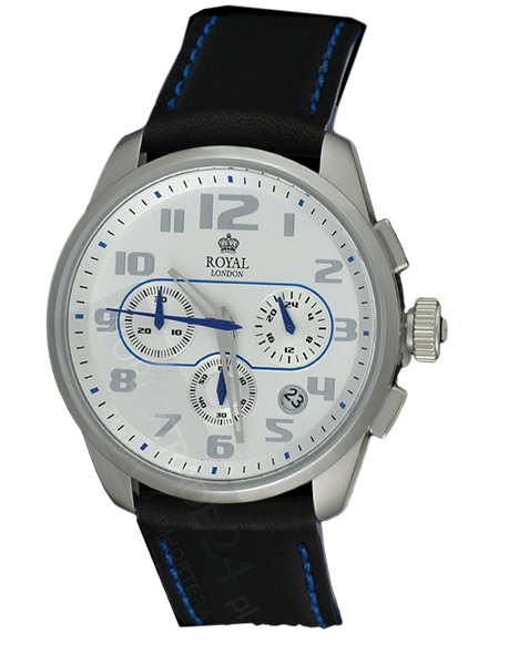 MEN'S WATCH ROYAL LONDON 41120-01 CHRONO 50M