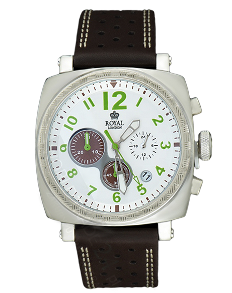 MEN'S WATCH ROYAL LONDON 41102-01 CHRONO 100M