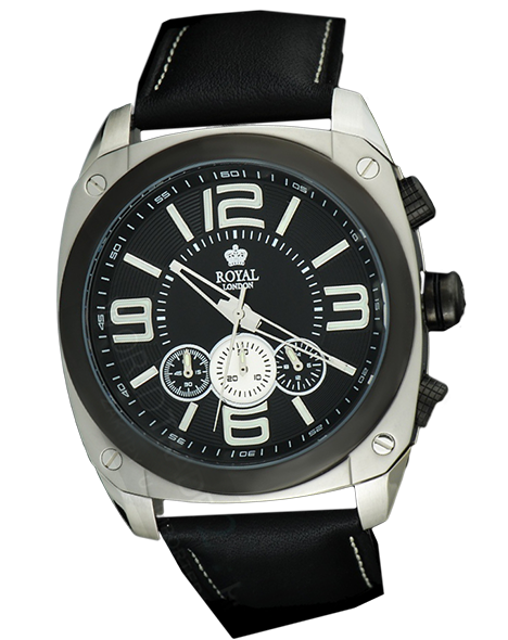 MEN'S WATCH ROYAL LONDON 41140-01 CHRONO 100M